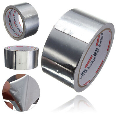 5cm X 17m Roll Silver Aluminium Adhesive Foil Sealing Tape Heating Duct Repairs