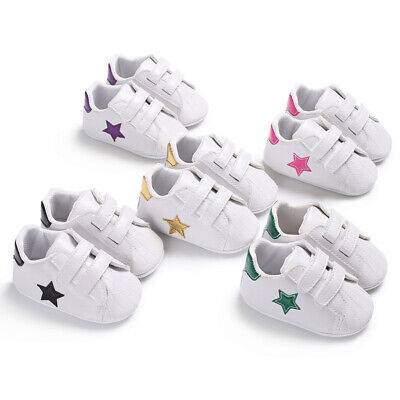 Fashion Infant Baby Boy Girl Casual Shoes Baby Cute White Walking Shoe For 0-18M](Cute Shoes For Boys)