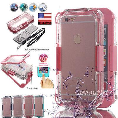 Shockproof Dirt Proof Waterproof Best Case Full Cover F Apple iPhone 7 6s 8