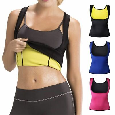 Redu Shaper Shirt Women Sweat Body Slimmer Neoprene Cami Sauna Vest Women S-6XL