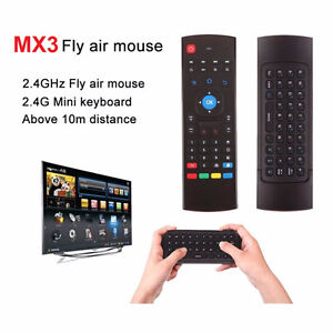 MX3 Fly Air Mouse Remote Control Keyboard