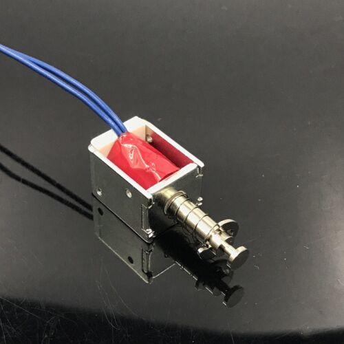 DC 6V 9V 12V Solenoid Valve Micro Mini DC Electromagnet Push Pull Suction Type