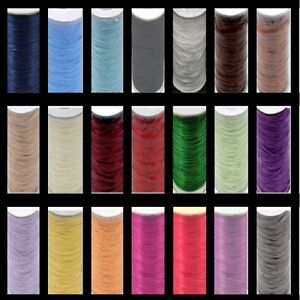 0-5mm-1-5mm-2mm-Snakeskin-style-waxed-cord-Jewellery-Making-UK-Seller