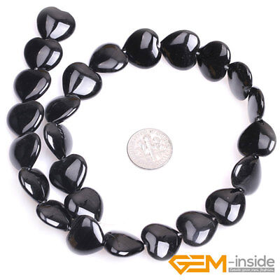 """Natural Black Onyx Agate Gemstone Rectangle Beads For Jewelry Making Strand 15/"""""""