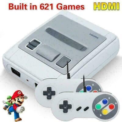 HDMI Nintendo SUPER Classic Edition Konsole Mini Retro Eingebaute 621 Spiele
