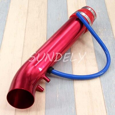 Hi-Q 3''/ 76mm Car Cold Air Intake Induction Pipe Filter Tube Universal Fit UK