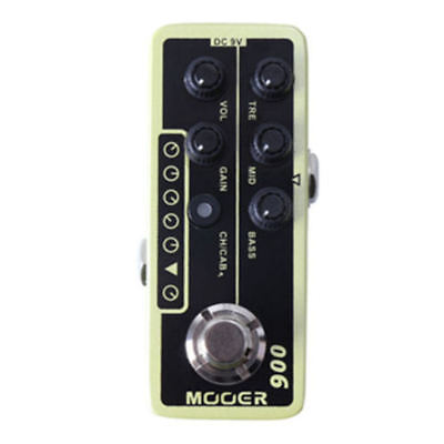 Mooer US Classic Deluxe 006 Digital Micro PreAmp Guitar Pedal New!