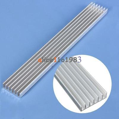 10pcs Silver-white Heat Sink Led 150x20x6mm Heat Sink Aluminum Cooling Fin