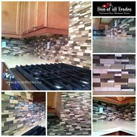 $$$ Specials on Back Splash Inatallation $$$