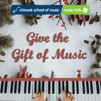 Holiday Promo:4 x 30-min Music Lessons for $125 (Any instrument)