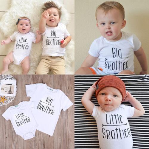 42761e9aa82d Купить Little Brother Kid Baby Boy Romper Big Brother на eBay.com из ...