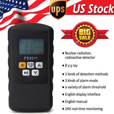 Geiger Counter Fm Tube U Y Xray Nuclear Radiation Detector Monitor Dosimeter