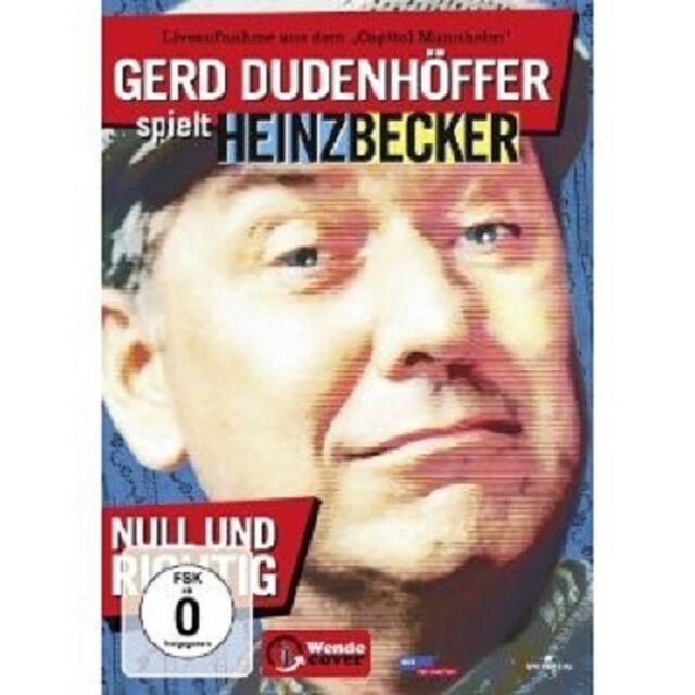 GERD DUDENHOEFFER-HEINZ BECKER: NULL U -  DVD NEUWARE DUDENHÖFFER,GERD