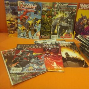 90 Transformers comic books