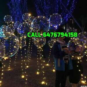 Reusable led party balloons