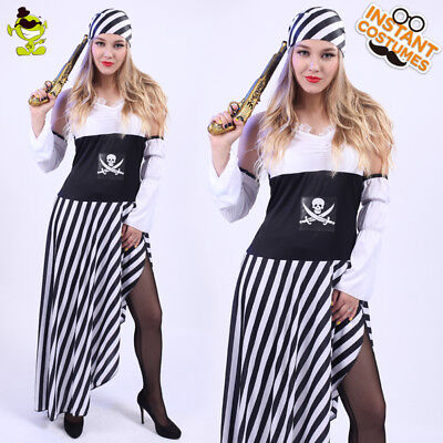 New Adult's  Sexy Lady's Pirate Costume Role CosPlay Fancy Dress For Halloween](Pirate Halloween Costumes For Adults)