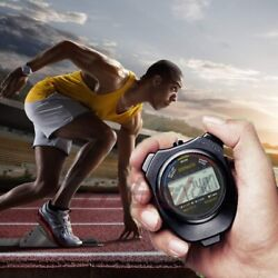 Digital Sports Stopwatch Timer with Extra Large Display and Buttons Water Resist