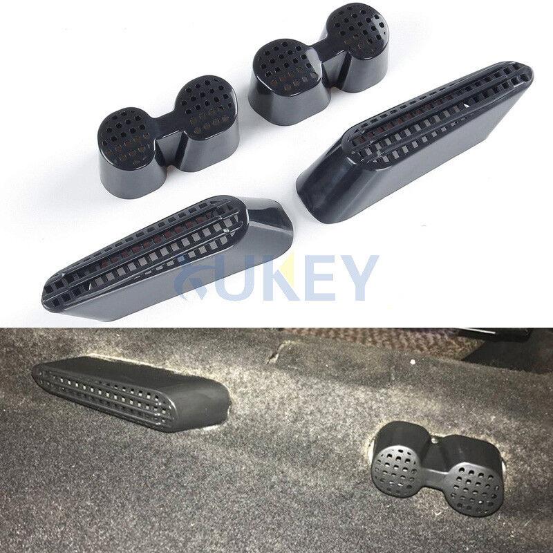 For 07- VW Tiguan MK1 Passat CC Seat Rear Floor AC Heater Air Vent Grille Cover