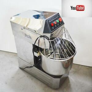 Commercial Double Action Double Speed Spiral Dough Mixer Mixing Machine 170637