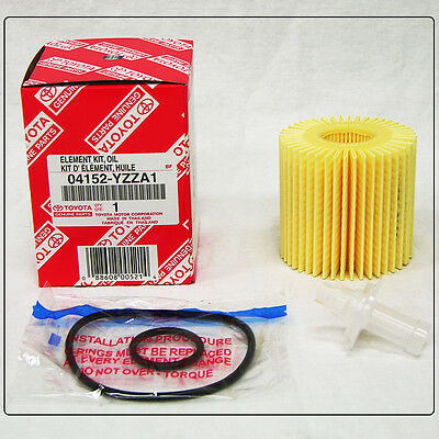 TOYOTA OEM Engine-Oil Filter 04152-YZZA1 for Scion Avalon Camry Highlander Venza