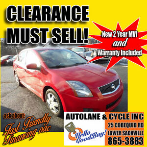 *FEATURE* 2008 Nissan Sentra SE-R *CLEARANCE* Only 133000km
