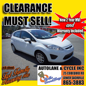 2012 Ford Fiesta Hatchback Only $6495  *MUST SELL* $6495