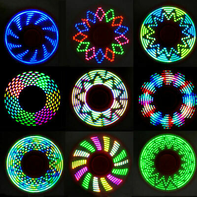 LED Light Fidget Spinner Tri-Spinner Focus Toys ABS  Kids ( add your color)