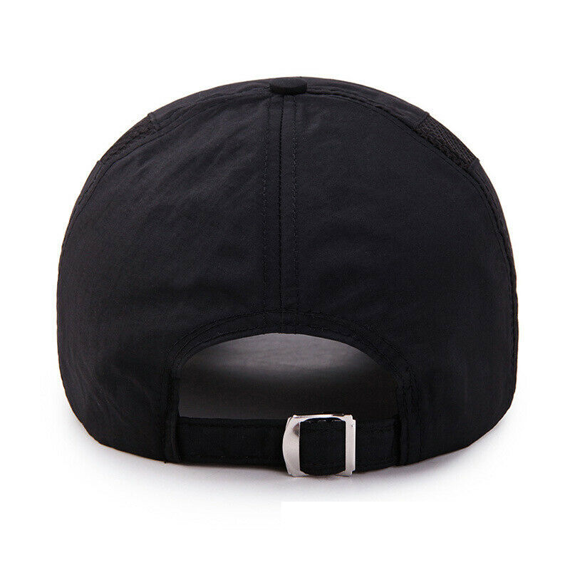 Mens Mesh Baseball Caps Summer Holiday Adjustable Breathable Sports Golf Caps Clothing, Shoes & Accessories