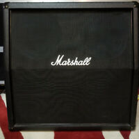 TWO MARSHALL CABS + YORKVILLE AMPLIFIER