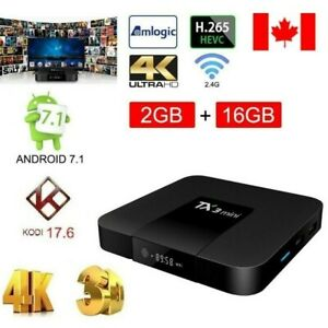 TX3 ANDROID BOX 2 GB +16 GB FREE MOVIES & SHOWS★GET YOURS TODAY★