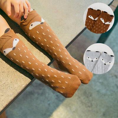 Baby Cute Cartoon Soft Cotton Leg Warmers Knee High Long Socks Boy Girl Toddler](Toddler Boy Knee High Socks)