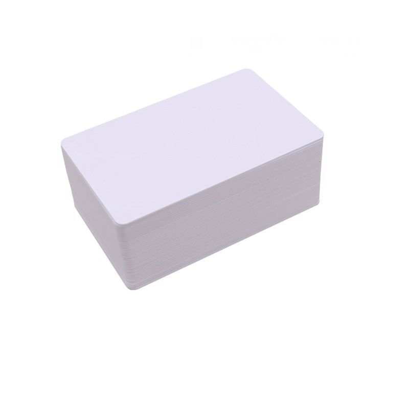 100PCS NFC NTAG213 13.56MHZ IC Card  ISO14443A White PVC Cards