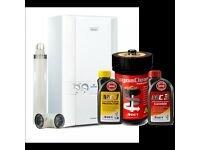 BRAND NEW GAS OR LPG 30KW COMBI BOILER, FLUE, WIRELESS STAT + MORE - GAS SAFE REGISTERED INSTALLER