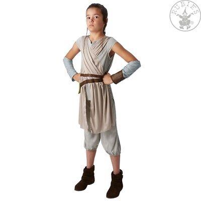 RUB 3620326 Rey Ep. VII Deluxe Lizenz Star Wars Kostüm Kinder Mädchen 9 - 12 J (Mädchen Star Wars Kostüm)