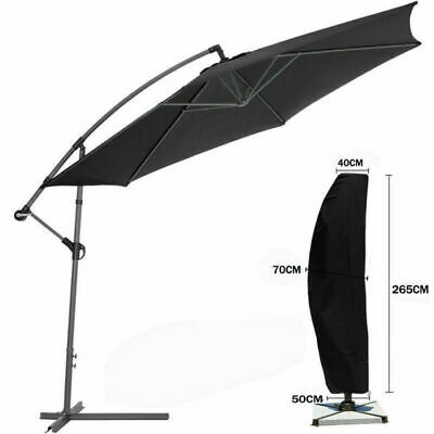 Schutzhülle für Ampelschirm Oxford Sonnenschirm Schutzhaube Hülle Abdeckung Abdeckung