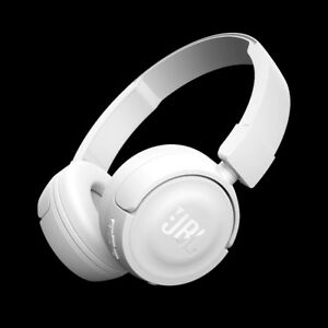 Brand New JBL T450BT White Bluetooth Headphones Wireless