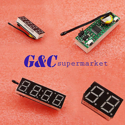 """5pcs 0.36"""" led Digital Display Electronic Time Clock DS1302 + Thermometer + Date"""
