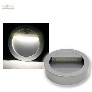 Netshop Lighting Fixtures : LED-Wall-light-fixture-Alu-silver-Surface-mounted-ceiling-luminaire ...