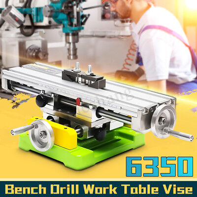 Drill Milling Machine Working Table Worktable Bench Compound Cross Slide Z