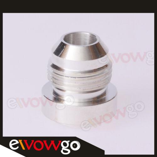 AN-6 AN6 6AN -6AN Male Aluminum Weld Plug Fitting Round