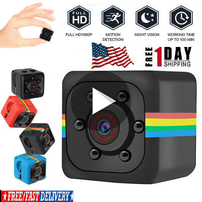 SQ11 Spy Hidden DV DVR Camera Full HD 1080P Mini-Car Dash Cam Night-Vision