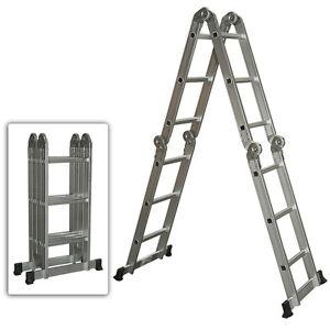 16 FT Articulating Aluminium Ladder