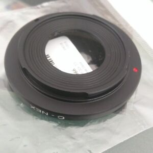 C Mount and T2 Lens adapter for SONY NEX and Konica for Olympus