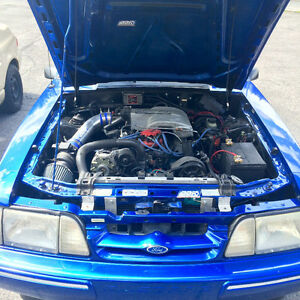 Ford mustang 5.0lx 1993 Foxbody  Sleeper drag