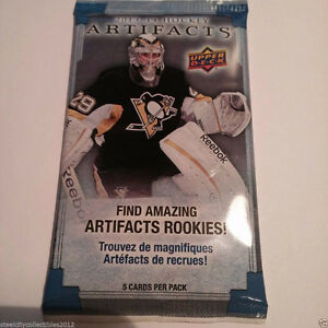UpperDeck Artifacts Hockey 2013/14 $2 Per Pack Wow!!