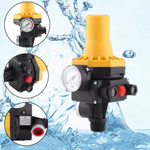 Pumpensteuerung Druckschalter Druckregler Gartenpumpe 10 Bar Ohne Kabel DT NEU 1