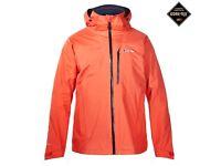 Berghaus Island Peak Gore Tex Waterproof Mens Jacket- New with tags. Hiking/ cycling/ climbing