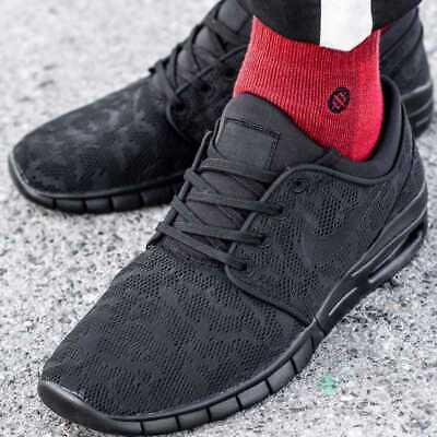 🔥 Nike SB Stefan Janoski Max | UK 10 EU 45 US 11 | 631303 099 Black 🔥