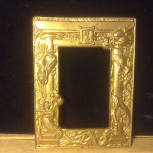 Antique 1920s Chinese Export Photograph Frame