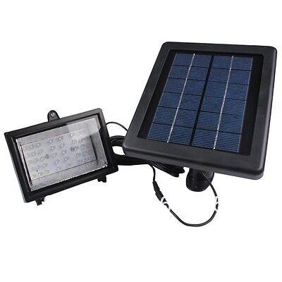 Bizlander Solar Powered 30led Outdoor Spot Light Auto-turn-onoff For Garden